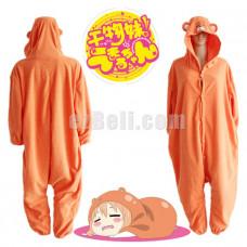 New! Himouto Umaru-chan Umaru Doma Cosplay Costume Winter Sleepwear Halloween Party Jumpsuit Pajamas Kigurumi