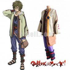 New! Anime Kabaneri of Iron Fortress Ikoma Kimono Cosplay Costume