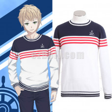 New! Kantai Collection Kancolle Shimakaze Leisure Navy sweater Pullover Casual Cosplay