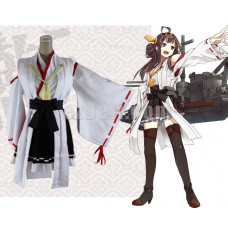 New! Kancolle Kantai Collection Kongou Class Battleship Kongo Cosplay Costume