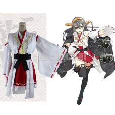 New! Kancolle Kantai Collection Kongou Class Battleship Haruna Cosplay Costume