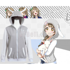 New! Love Live! Kotori Minami Animals Unawakened Anime Stylish Cosplay Hoodie Jacket