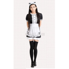 New! Maid Lolita Dress Cosplay Costume