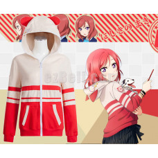 New! Love Live! Maki Nishikino Animals Unawakened Anime Stylish Cosplay Hoodie Jacket
