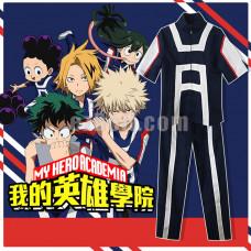 New! My Hero Academia Boku no Hero Academia Izuku Midoriya High School Gym Tracksuit Cosplay Costume