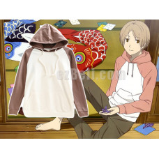 New! Natsume's Book of Friends Takashi Natsume Cosplay Hoodie Jacket