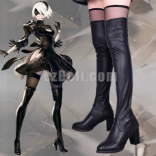 New! Nier: Automata Game 2B Cosplay Boots