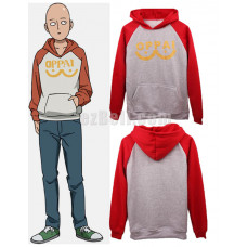 New! Oppai One punch-man Saitama Hoodie Sweater Cosplay Costume