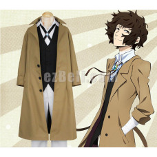 New! Bungou Bungo Stray Dogs Osamu Dazai Cosplay Costume