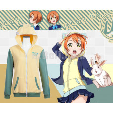 New! Love Live! Rin Hoshizora Animals Unawakened  Anime Stylish Cosplay Hoodie Jacket