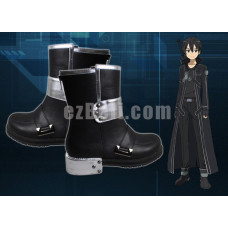 New! Sword Art Online Kirito Cosplay Boots