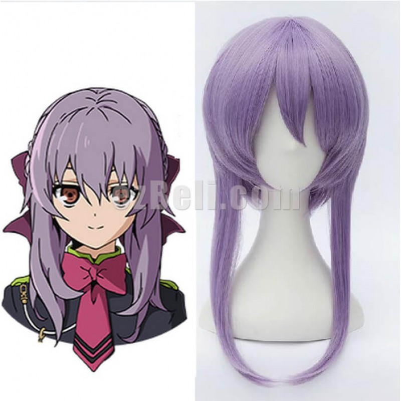 New! Seraph Of The End Owari no Seraph Hiiragi Shinoa Cosplay Wig