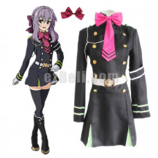 New! Seraph Of The End Owari no Seraph Hiiragi Shinoa Uniform Cosplay Costume