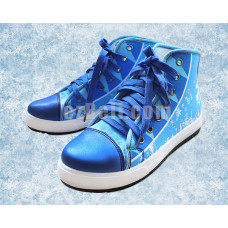 New! Hatsune Miku Snow Miku 2016 Vocaloid Shoes Casual Sneakers