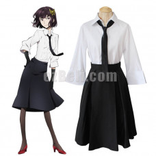 New! Bungou Bungo Stray Dogs Akiko Yosano Cosplay Costume