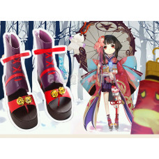 New! Onmyoji Yin Yang Master Shen Le Cosplay Shoes