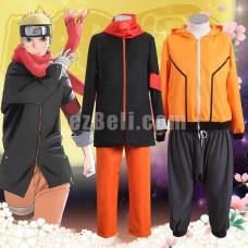 New! The Last: Naruto the Movie Uzumaki Naruto Eighth and Ninth Cosplay Costume