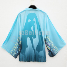 New! Vocaloid Hatsune Miku Stylish Cloak Clothing