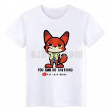 New! Zootopia Fox Nick Wilde T-shirt  Type 4