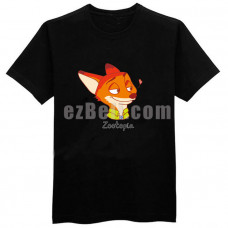 New! Zootopia Fox Nick Wilde T-shirt  Type 2