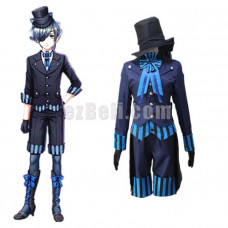 New! Black Butler Kuroshitsuji Movie: Book of the Atlantic Ciel Phantomhive Cosplay Costume