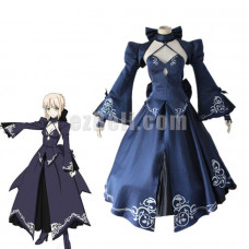 New! Fate Grand Order Fate Stay Night Saber Alter Altria Pendragon King Arthur Dress Cosplay Costume