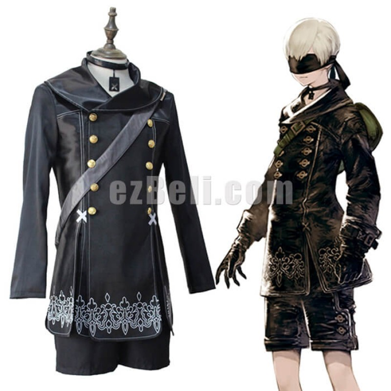 New! NieR: Automata 9S YoRHa No.9 Type S Cosplay Costume