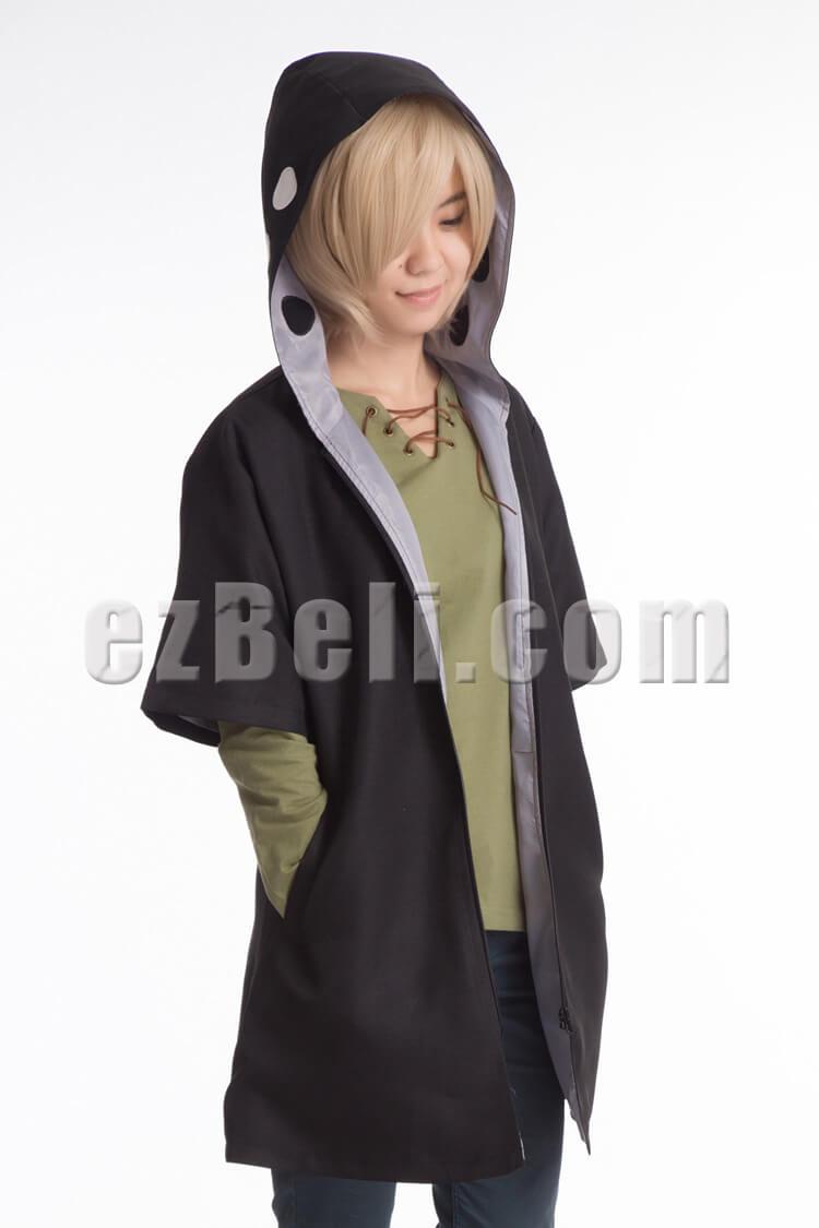 New Vocaloid Heat Haze Project Kagerou Shuuya Kano Jaket Anime Shingeki No Kyojin Green Hoodie Kode Z 04 Measurement Cm