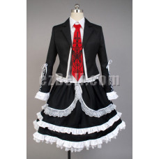 New! Danganronpa Dangan-Ronpa Celestia Ludenberg Dress Cosplay Costume