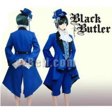 Black Butler Kuroshitsuji Ciel Phantomhive Birthday Cosplay Costume