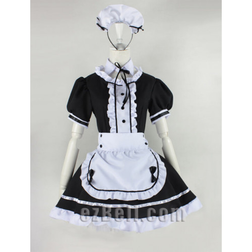 maid black white