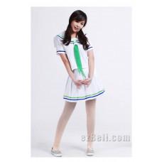 Kuroko no Basuke Riko Aida White Cosplay Costume