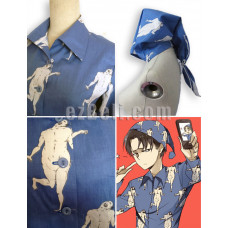 Attack on Titan 進撃の巨人 Shingeki no Kyojin - Levi Pajamas Cosplay costume