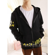 One Piece Trafalgar Law Black Hoodie Jacket