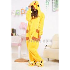 Coral Fleece Pikachu Kigurumi Pajamas Pyjamas Costume Cosplay