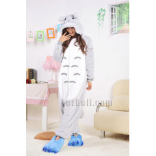 Coral Fleece Cartoon Totoro Kigurumi Pajamas Pyjamas Costume Cosplay