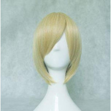Cosplay Wig - Long Fringe Short Wig - Blonde