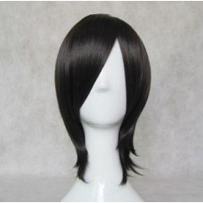 Cosplay Wig - Long Fringe Short Wig - Black