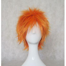 Cosplay Wig - Short Orange Wig