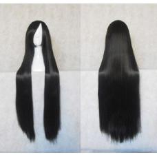 Straight Long Wig 100CM Black