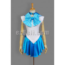 New! Sailor Moon Sailor Mercury Ami Mizuno Cosplay Costume