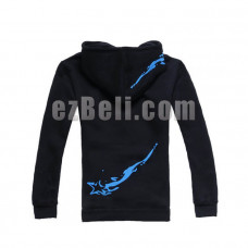 New! Black Rock Shooter BRS Hoodie Jacket Type B