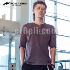 New! Official Original Crows Zero Genji Stylish Casual Elbow Length Shirt Type A