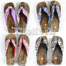 Japanese Clog Sandals Cosplay