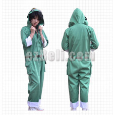New! Heat Haze Project (Kagerou Project) Mekakushi Dan Seto Kousuke Green Uniform Cosplay Costume