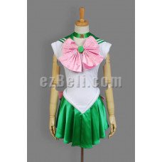 New! Sailor Moon Sailor Jupiter Makoto Kino Cosplay Costume