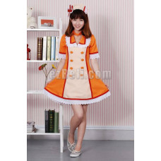 New! Vocaloid Hatsune Miku Nurse Cosplay Costume Yellow