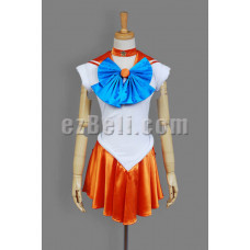 NEW! Sailor Moon Sailor Venus Aino Minako Cosplay Costume
