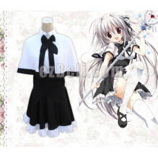 New! Juo Mujin no Fafnir Unlimited Fafnir Brynhildr Mitsuki Mononobe School Uniform Cosplay Costume