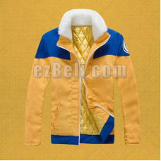 New! Naruto Uzumaki Jacket Cosplay Costume
